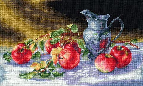 """Вышивка крестом """"Сочные яблоки"""""""
