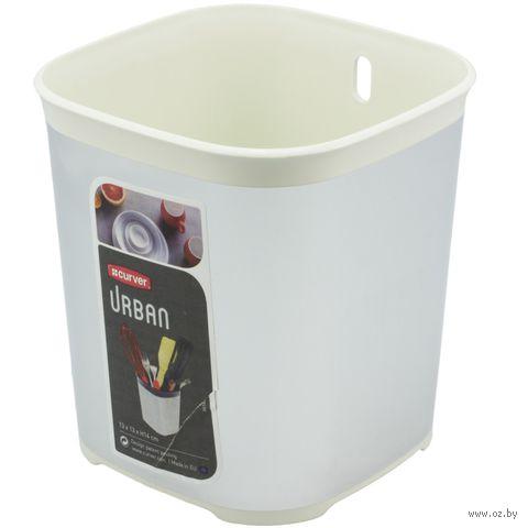 Сушилка для столовых приборов (гранит/кремовая)
