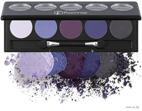"Палетка теней для век ""Color Palette Eye Shadow"" тон: 010, lilac harmony — фото, картинка"