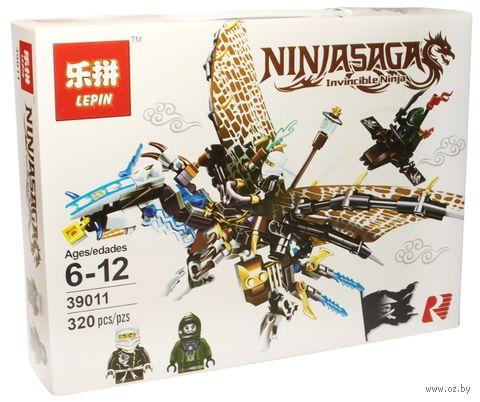 """Конструктор Ninjasaga """"Ледяной Дракон Зейна"""" — фото, картинка"""