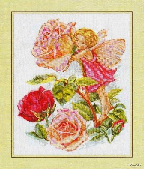"Вышивка крестом ""Фея розового сада"""