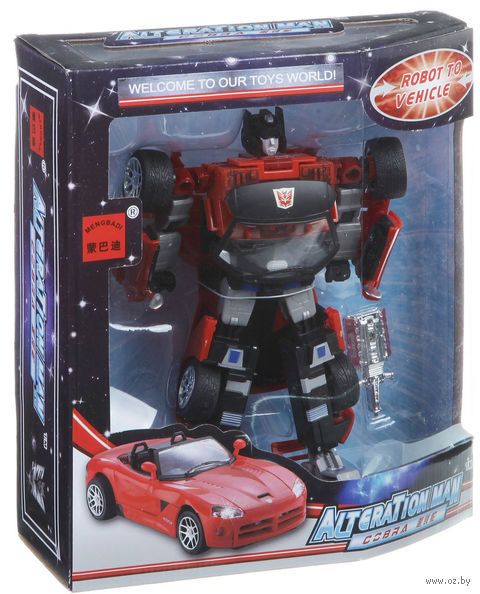 "Робот-трансформер ""Машина"" (арт. 5501D) — фото, картинка"