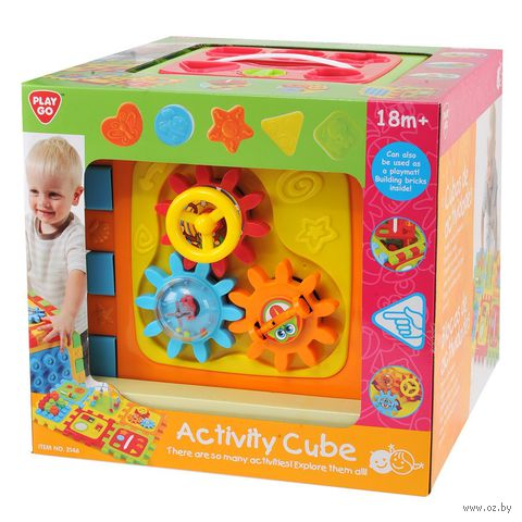 """Развивающая игрушка """"Куб"""" (арт. 2146) — фото, картинка"""