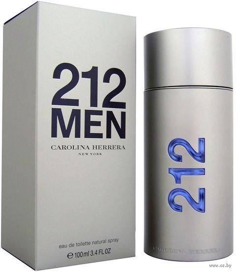"Туалетная вода для мужчин ""212 Men"" (100 мл) — фото, картинка"