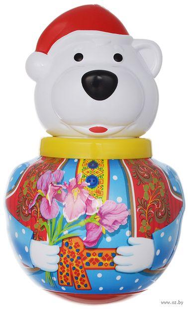 """Неваляшка малая """"Белый медведь Тема"""" (пакет)"""