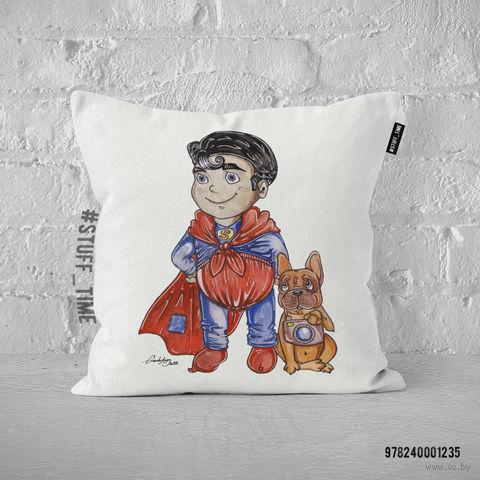 """Подушка """"Супермен"""" (арт. 1235) — фото, картинка"""
