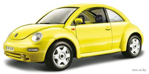 """Модель машины """"Bburago. Volkswagen New Beetle"""" (масштаб: 1/24) — фото, картинка"""