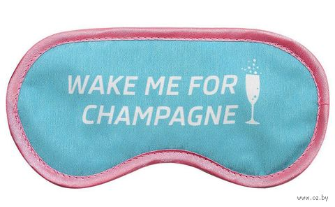 """Маска для сна """"Шампанское"""" — фото, картинка"""