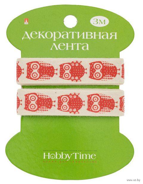 """Лента декоративная """"Совы"""" — фото, картинка"""