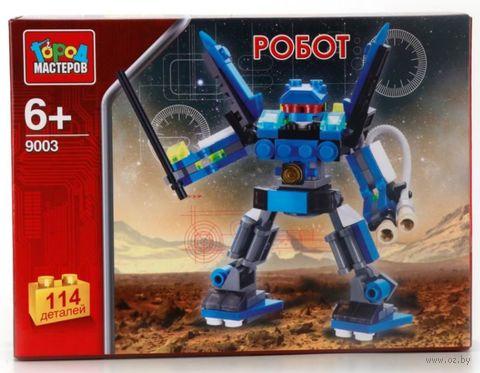 """Конструктор """"Робот"""" (114 деталей) — фото, картинка"""