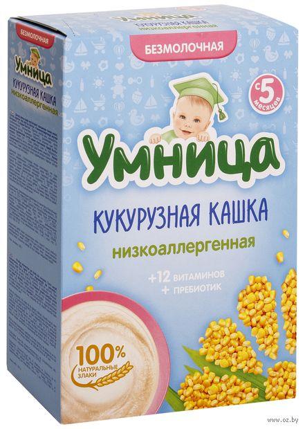 """Детская каша Умница """"Низкоаллергенная кукурузная"""" (200 г) — фото, картинка"""
