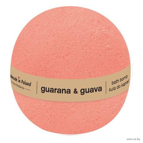 "Бурлящий шар для ванны ""Гуарана и гуава"" (200 г) — фото, картинка"