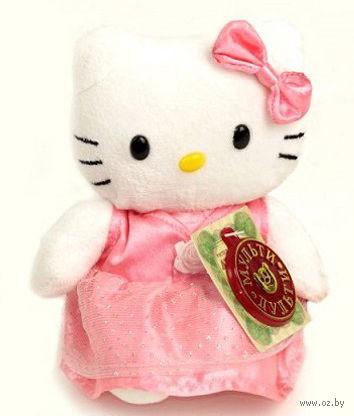 """Мягкая музыкальная игрушка """"Hello Kitty"""" (14 см)"""