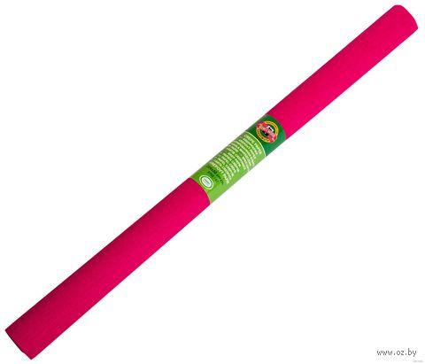 Бумага креповая цветная (50х200 см; красная насыщенная) — фото, картинка