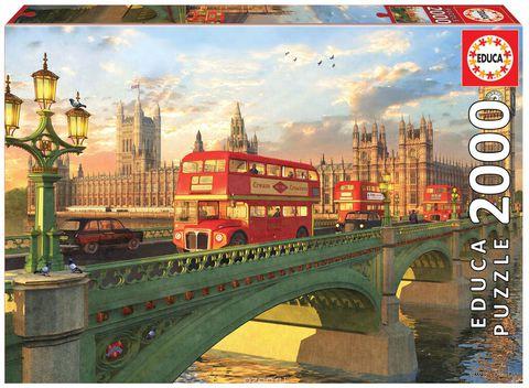 """Пазл """"Вестминстерский мост. Лондон"""" (2000 элементов)"""