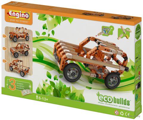 """Конструктор """"Eco Builds. Внедорожники"""" (162 детали)"""