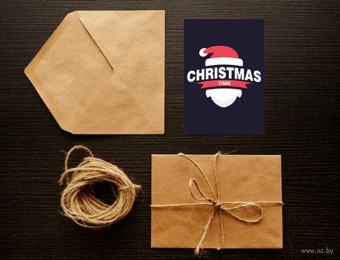 """Открытка """"Christmas time"""" (арт. 8) — фото, картинка"""
