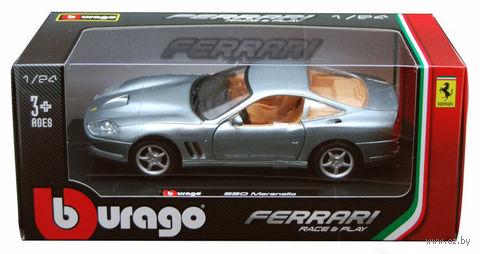 "Модель машины ""Bburago. Ferrari 550 Maranello"" (масштаб: 1/24) — фото, картинка"