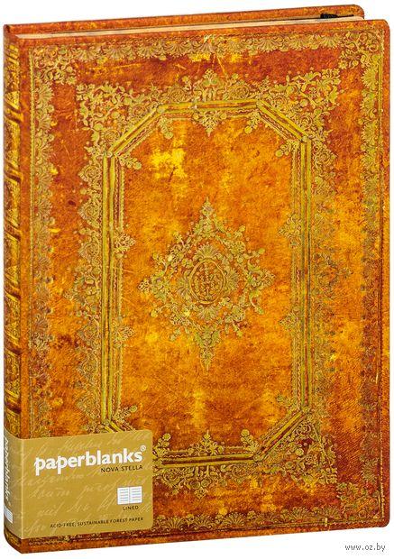 "Записная книжка Paperblanks ""Небесное сияние. Солис"" в линейку (180х230 мм) — фото, картинка"
