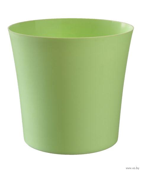 """Цветочный горшок """"Фиолек"""" (11 см; зеленая пастель) — фото, картинка"""