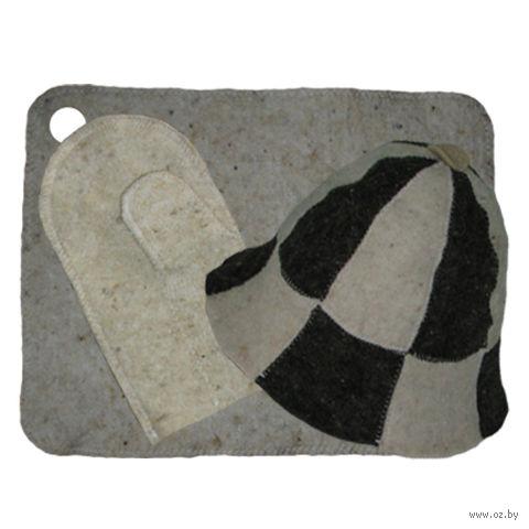 Набор для сауны (3 предмета; арт. Н-16) — фото, картинка
