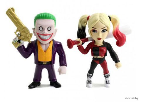 """Набор фигурок """"Джокер и Харли Квинн"""" (10 см) — фото, картинка"""