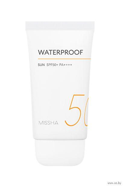 """Крем солнцезащитный для лица """"Waterproof Sun"""" SPF 50+ (50 мл) — фото, картинка"""
