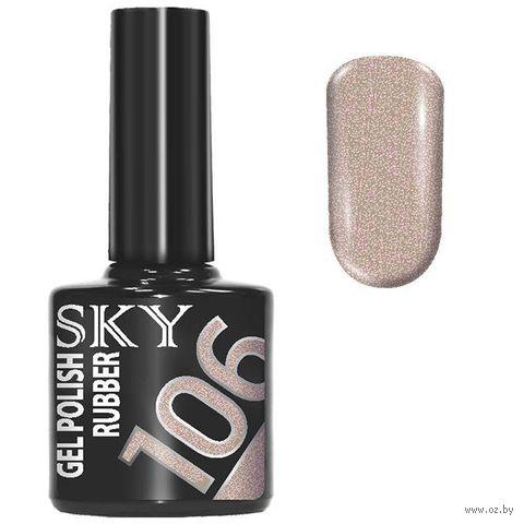 """Гель-лак для ногтей """"Sky"""" тон: 106 — фото, картинка"""