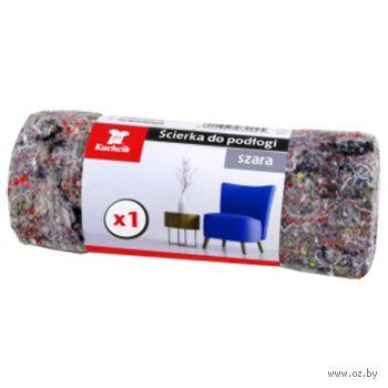 Салфетка для уборки пола (500х600 мм; серая) — фото, картинка