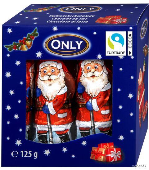 "Шоколад молочный фигурный ""Santa Claus"" (125 г) — фото, картинка"