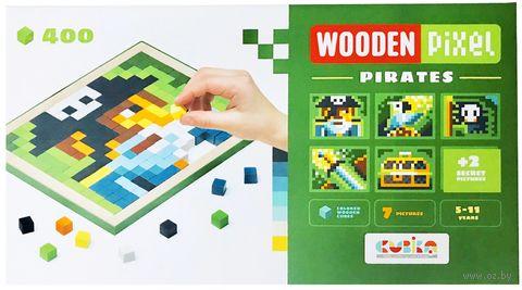 """Мозаика """"Деревянные пиксели 5"""" (400 элементов; арт. 14910) — фото, картинка"""