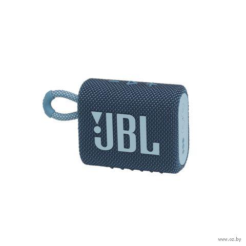 Колонка беспроводная JBL GO 3 (синяя) — фото, картинка