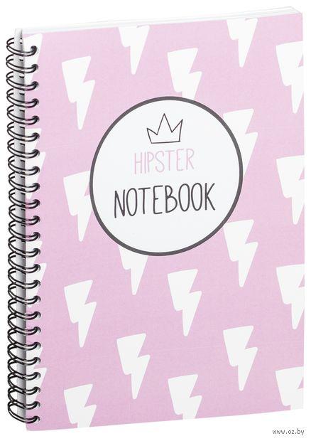 """Блокнот в клетку """"Hipster notebook"""" A5 (1368)"""