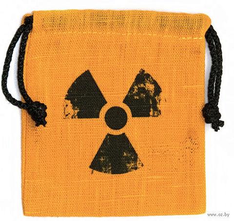 """Мешочек для хранения кубиков и карт """"Радиация"""" — фото, картинка"""