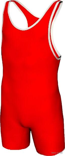 Трико борцовское MA-401 (р. 42; красное) — фото, картинка