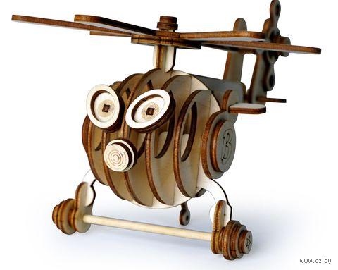 "Сборная деревянная модель ""Вертолёт Витя"" — фото, картинка"