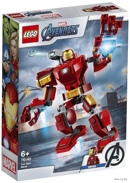 "LEGO Super Heroes ""Железный Человек: трансформер"" — фото, картинка"