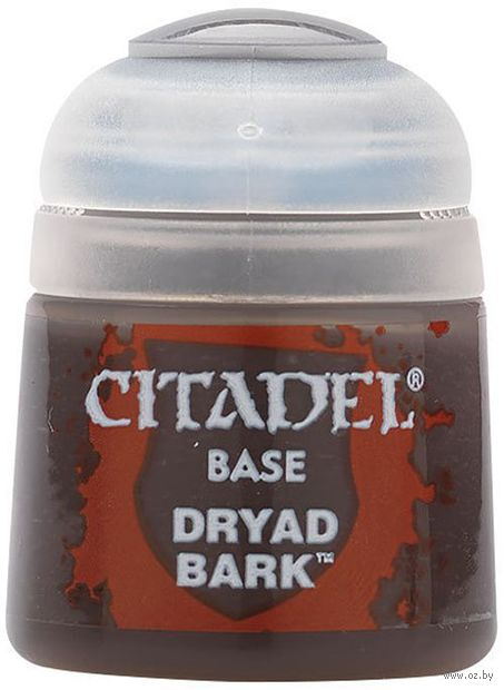 "Краска акриловая ""Citadel Base"" (dryad bark; 12 мл) — фото, картинка"