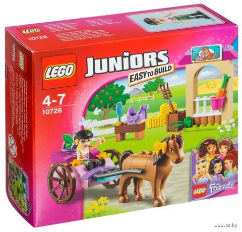 "LEGO Juniors ""Карета Стефани"""