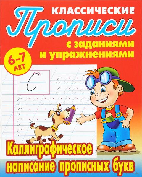 Каллиграфическое написание прописных букв. 6-7 лет — фото, картинка