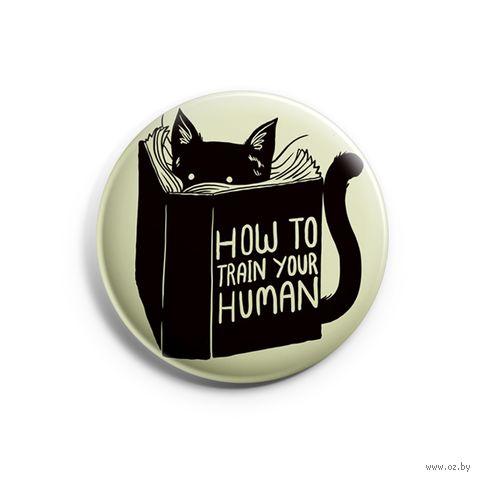 "Значок маленький ""Cat"" (арт. 730) — фото, картинка"