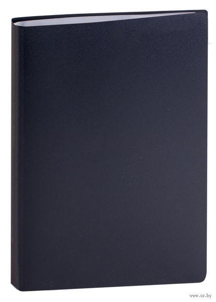 """Папка с файлами """"Attomex"""" (А4; 20 листов; черная) — фото, картинка"""