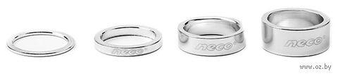 """Проставочное кольцо для велосипеда """"AS3610S"""" (10 мм; серебристое) — фото, картинка"""