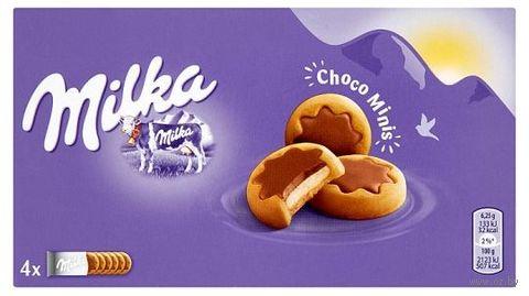 "Печенье ""Milka. Choco Minis"" (150 г) — фото, картинка"