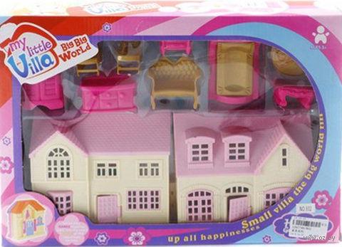 Дом для куклы с набором мебели (арт. 802)