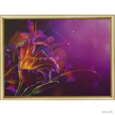 "Алмазная вышивка-мозаика ""Пурпурная лилия"""