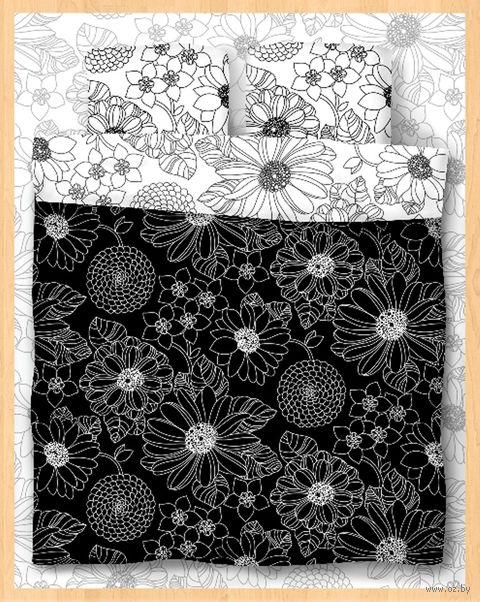 """Постельное белье """"Black and White"""" (полуторное) — фото, картинка"""