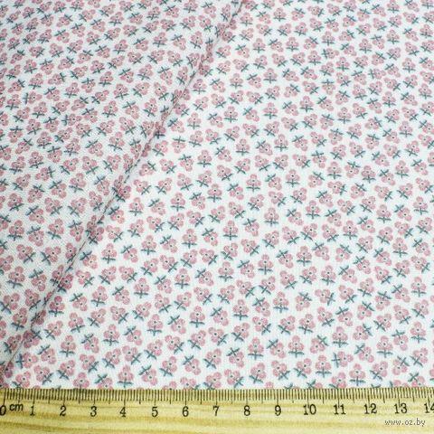 """Ткань """"Сказочные цветы"""" №46 (48х50 см) — фото, картинка"""