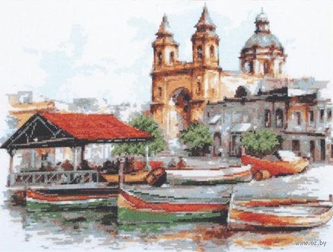 "Вышивка крестом ""Мальта"" (390х300 мм) — фото, картинка"