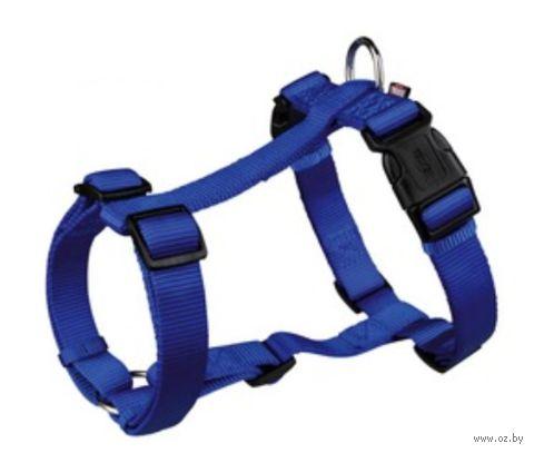 """Шлея для собак """"Premium H-harness"""" (размер S-M; 40-65 см; синий)"""